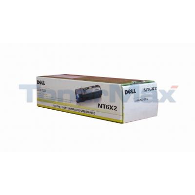 DELL 2150CN TONER CARTRIDGE YELLOW
